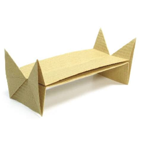 Origami Stand - how to make an origami boat stand page 9