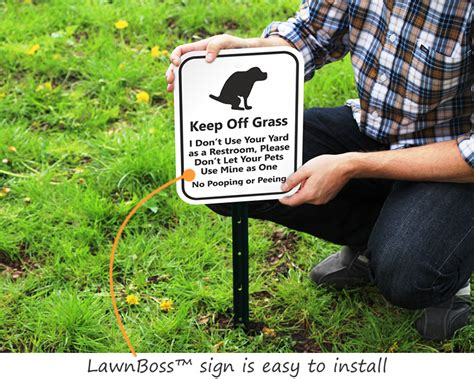 dog poop backyard dog poop signs keep your lawn poop free with curb your