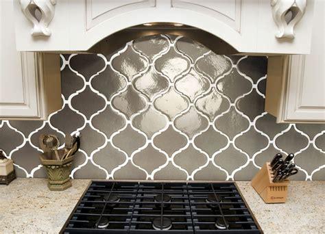 Beautiful Kitchen Backsplash elegant beveled arabesque tile homesfeed