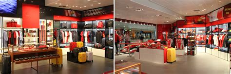 Ferrari Gift Shop by Ferrari Store Shop Eat Bologna Airport G Marconi
