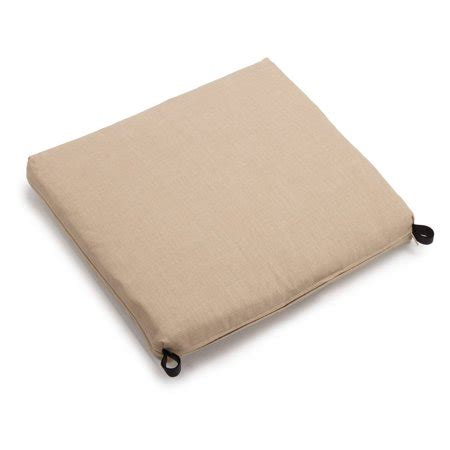 19 X 20 Patio Chair Cushions by Blazing Needles Outdoor All Weather Patio Chair Cushion 20