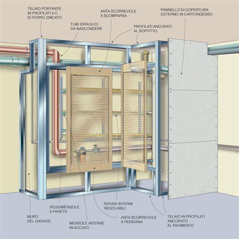 cabina armadio in cartongesso come realizzare un ripostiglio in cartongesso con ante a
