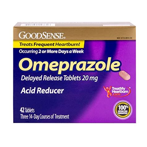 Omeprazole Blood In Stool by Goodsense Omeprazole Delayed Release Acid Reducer Tablets