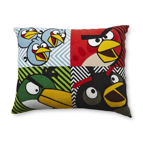 Angry Pillow by Angry Birds 20 Quot X 26 Quot Plush Pillow