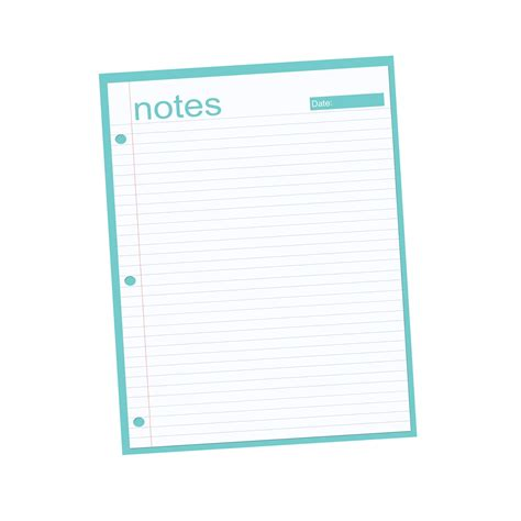 printable notebook paper with designs printable notebook paper clipart best