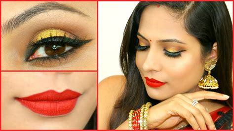 sophisticated makeup for 35 years old gold smokey eyes for beginners step by step indian