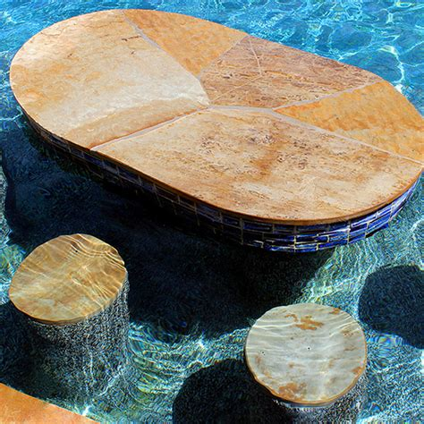 table for inside swimming pool swimming pool add ons features houston platinum pools
