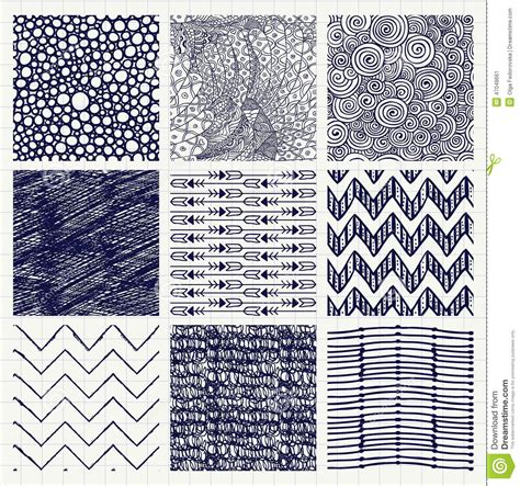 sketch pen pattern pen drawing seamless textures