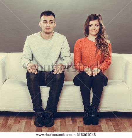 couch dating awkward stock images royalty free images vectors