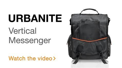 Everki Eks620 Urbanite Laptop Vertical Messenger Bag Fits Up To 141 everki urbanite laptop vertical messenger bag fits up to