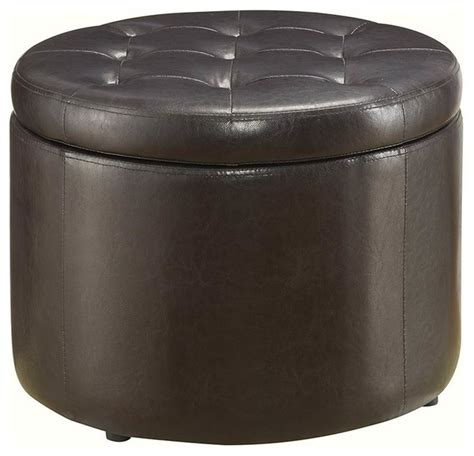 Shoe Ottoman Convenience Concepts Shoe Ottoman Espresso Footstools And Ottomans Houzz