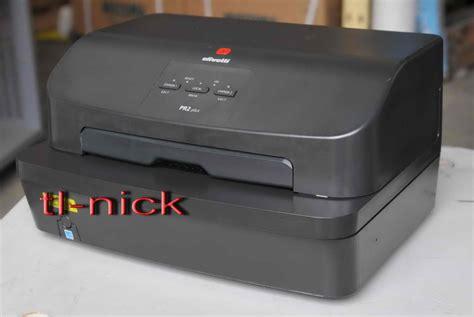 Passbook Printer Olivetti Pr2 Plus olivetti pr2 plus speclised passbook bank printer w usb parallel port not pr2e ebay