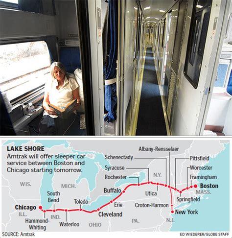 Cost Of Amtrak Sleeper Car by Amtrak Returns Sleeper Cars To Boston Chicago Run The Boston Globe