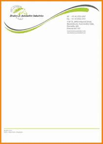 10 it company letterhead sle ledger paper