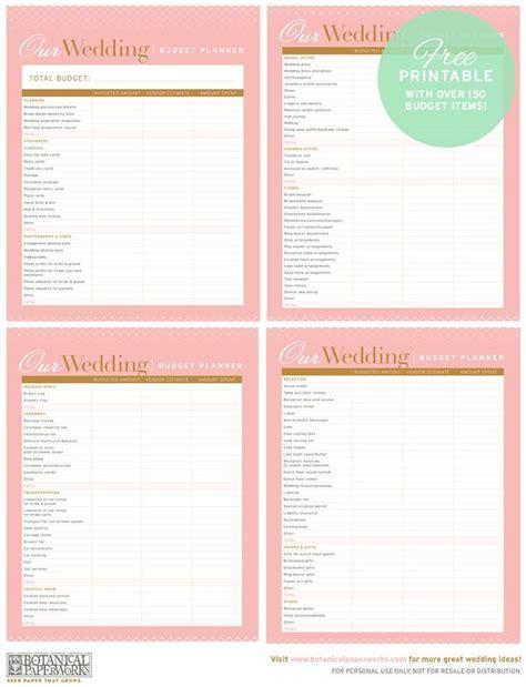 25  best Wedding Budget Planner trending ideas on