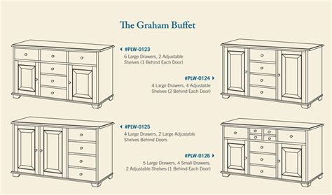 woodworkers supply graham graham buffet ohio hardwood furniture