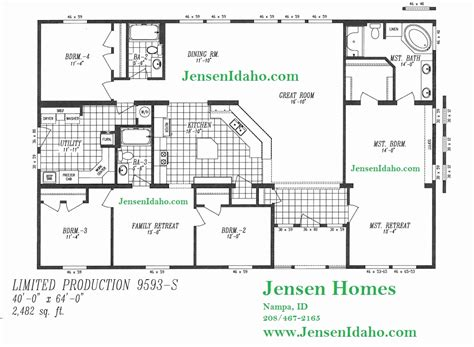 mobile modular home floor plans triple wide mobile homes 47 lovely gallery of triple wide manufactured homes floor