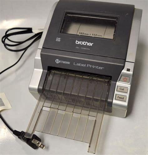 Ql 1060n Label Printer ql 1060n network label printer used 12502618812