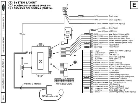clifford remote start wiring diagram wiring diagram with