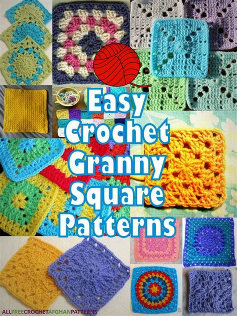 printable instructions on how to crochet a granny square it s so easy 46 easy crochet granny square patterns
