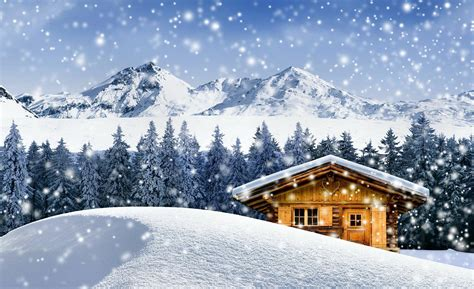 winter cottage winter cabin wallpapers wallpaper cave