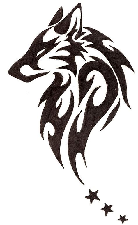 tribal shadow tattoo designs 60 tribal wolf tattoos designs and ideas