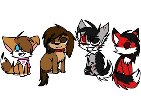 are foxes cats or dogs cat wolf fox fursonas by pikachu0205 on deviantart