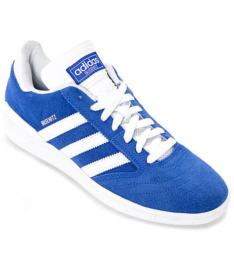blue suede shoes adidas busenitz blue white suede shoes