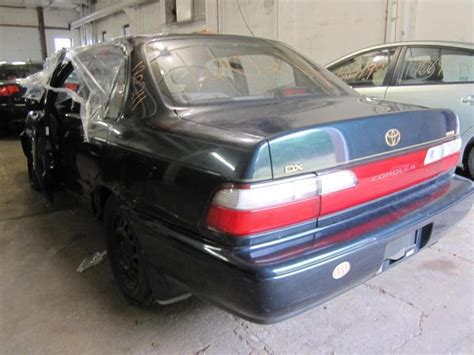 1997 Toyota Corolla Parts Parting Out 1997 Toyota Corolla Stock 120211 Tom S