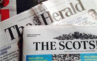 scots news titles see further sales decline daily business