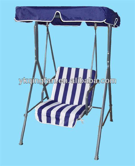 single seat swing single seat garden swing qf 63031 buy single seat