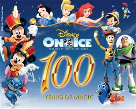 Family Disney On Ice100 Years Of Magic by Giveaway For Family 4 Pack For Disney On