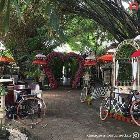 tempat makan  restoran  nuansa alam  medan