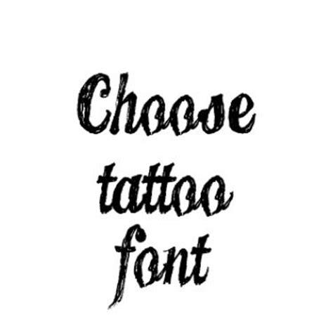 tattoo fonts plain lettering font generator