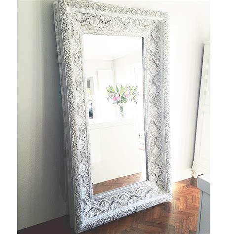 Studded Floor Mirror ibiza free standing floor mirror french bedroom company