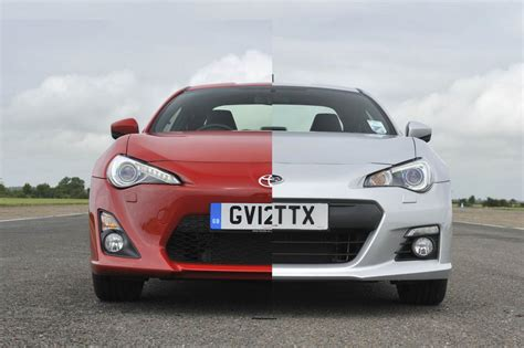 toyota gt86 and subaru brz subaru brz vs toyota gt86 review price and specs evo
