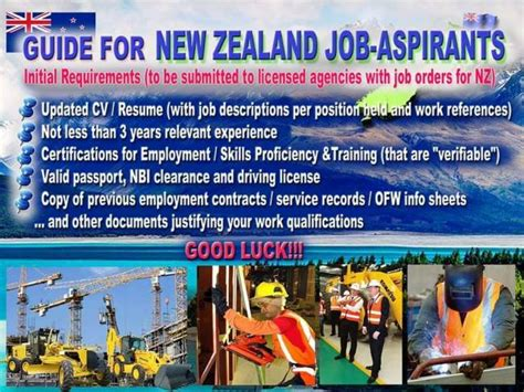 new zealand job hrd employment consultant and multi services inc job