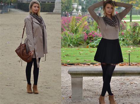 joanna p zara brown sweater zara black skirt primark