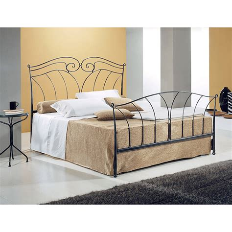 Handmade Iron Beds - wrought iron single bed nettuno handmade in italy