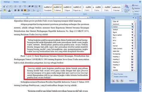 format font skripsi format skripsi di microsoft word bag 2 bagoeskrishna