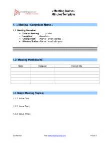 simple meeting minutes template best photos of basic board minutes template basic