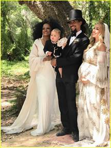 Long Barn California Diana Ross Eldest Son Ross Naess Marries Kimberly Ryan