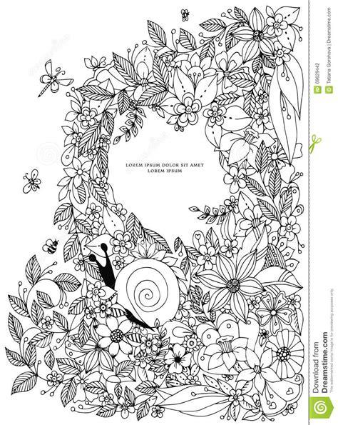 ocean border coloring page seashell border frame ocean pattern vector vintage