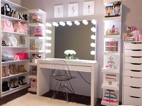 Vanity Con by Of Makeup Vanity Table With Lights Makeupjournal