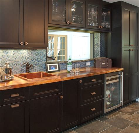 slate countertop cost cleveland copper countertops cost kitchen transitional