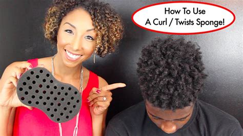 what type of sponge is used for hair this weird sponge will twist your hair for you