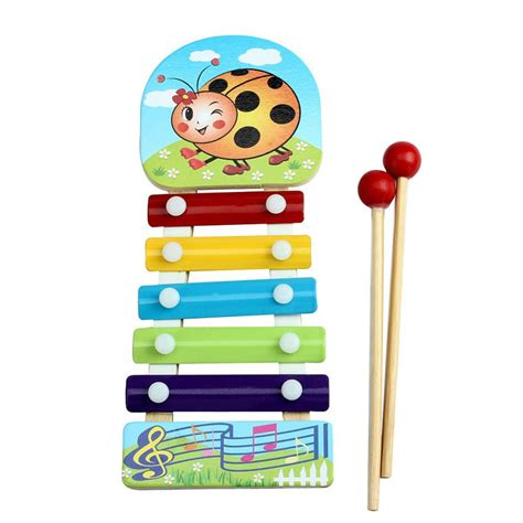 Promo Xylophone niosung baby kid 2017 new musical toys xylophone wisdom development wooden instrument