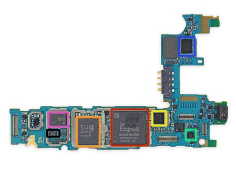 Ic Power Intel Baseband Pmb5747 Samsung Alpha G850f samsung galaxy alpha teardown ifixit