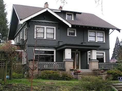 craftsman style house colors craftsman style home mt tabor neighborhood portland