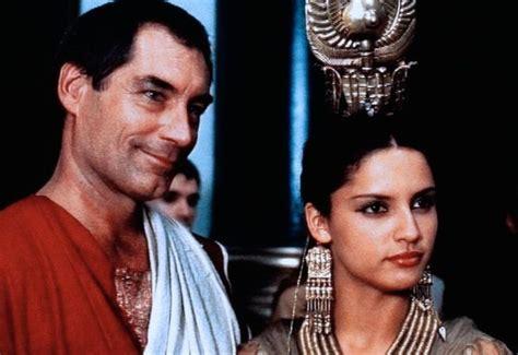 cleopatra timothy dalton timothy dalton with leonor varela in quot cleopatra quot england